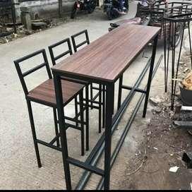 Meja bar kursi bar meja cafe meja makan meja kerja minibar kitchen set