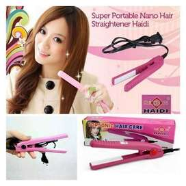 catok mini rambut ready pink