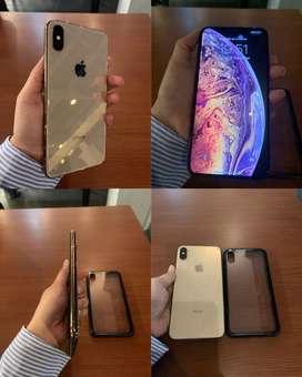 iphone xs max dual sim 256gb gold