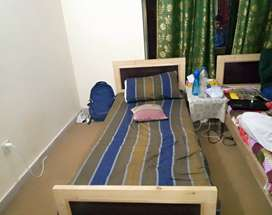 4 seater room 3 seater room available