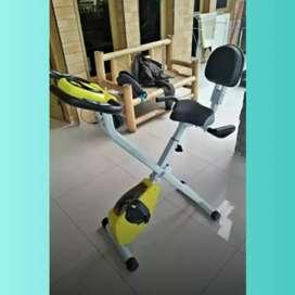 Alat Fitnes Murah X Bike Sandaran