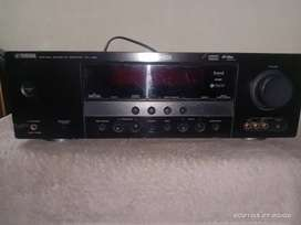 Yamaha 7.1 home theater amplifier active or powered subwoofer option