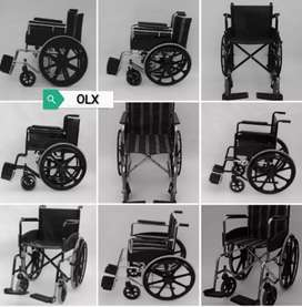 New Folding Wheelchair