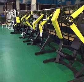 gym setup all machine