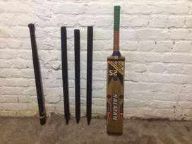 Bat salman sports + wickets 3 and 1other wicket