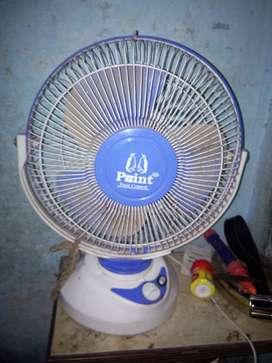 Table fan fast speed