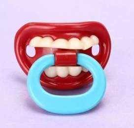 Silicone Funny baby pacifier Dummy Teether Toddler Pacy Orthodontic