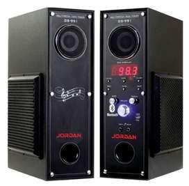 2yr warranty on Jordan Tower Speakers Model(991)