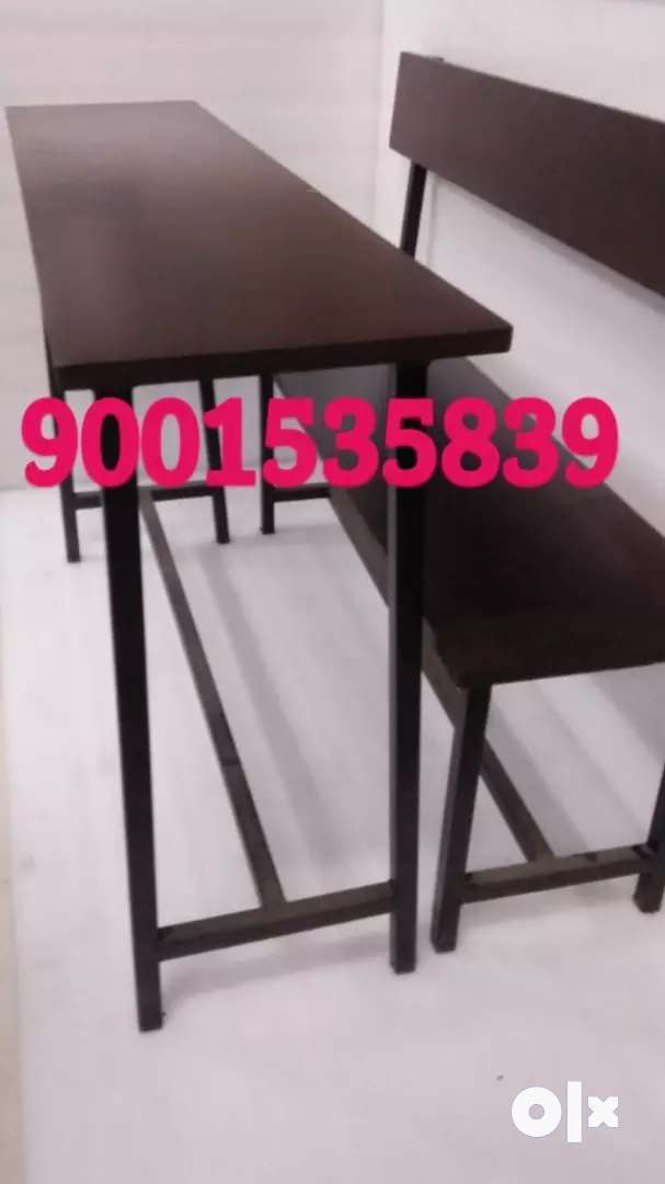 Newww school furniture bench table set at wholesale prices 0