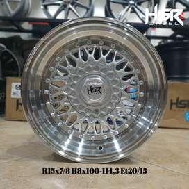 Velg Celong Mobil KIA Shuma Ring 15 Lebar 7/8 HSR RS