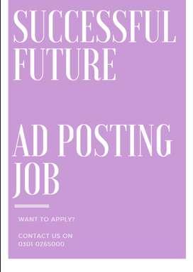ad posting online job for you all