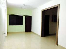 Semi furnished 3bhk flat in covered campus only for family on lease