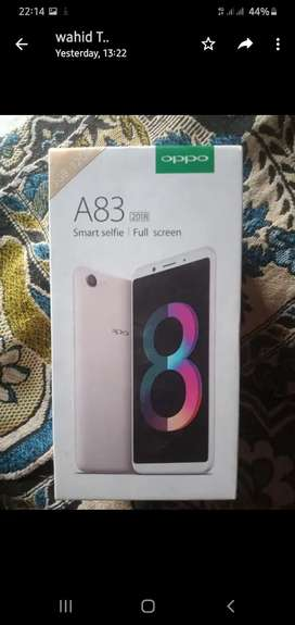 i want to sale my Oppo a83 phon with all accessories