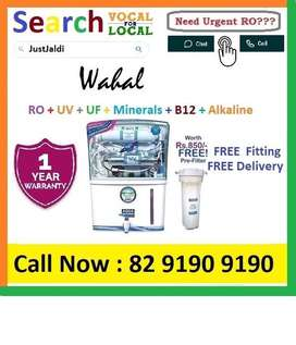 Wahal18.3 AquaGrand RO Water Purifier Water Filter AC dth bed car TV A