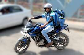 vacancy  fordelivery boy(biker)at tollygunge location