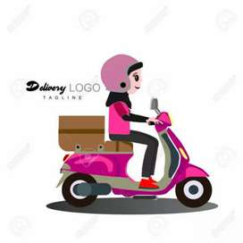 Wanted Female delivery executive