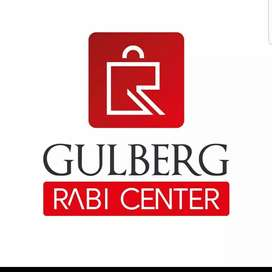 GULBERG RABI CENTER , Shop for Sale on just Rs:(742000) Booking.