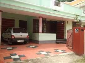 Independent House With Car Parking for rent at Kariyam near Sreekariya
