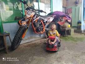 """Odong""""New Megapro Body KTM"""