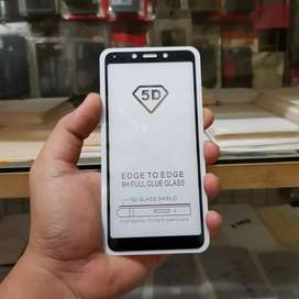 tempered glass fullcover xiaomi redmi 6 / 6a full cover full lem
