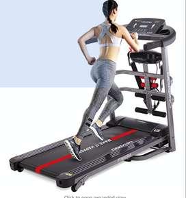 MAXPRO PTM405M Multipurpose Folding Treadmill, Electric Motorized