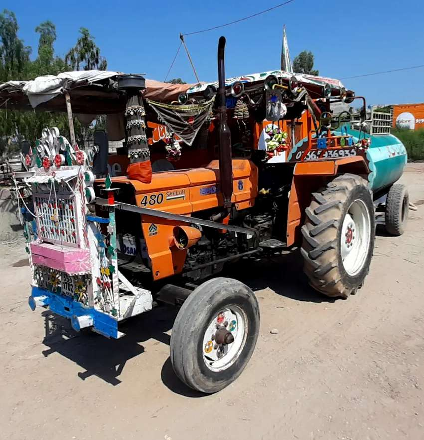 Tractor Fiat 480 special in Good condition 0