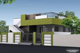 Corner North Facing 30'X40' plot with construction at Panchashi Nagar