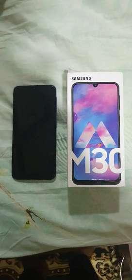 Galaxy M30 4gb ram and 64gb memory
