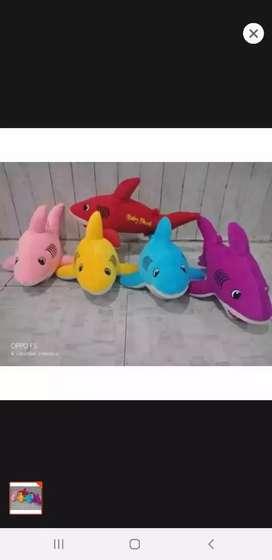 Boneka baby shark hiu terbaru murah