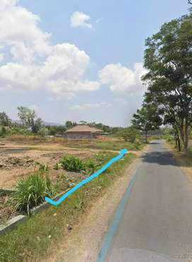 Jual tanah murah di pleret Bantul dekat Aspal Yogya dekat Pasar