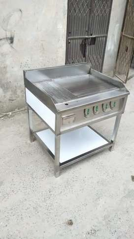 Hot plate with grill shapper , pizza oven fast food setup delivery bag