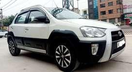 Toyota Etios Cross 2014 Diesel 78000 Km Driven