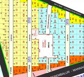 EXCELLENT LOCATION - DTCP HOUSING PLOTS
