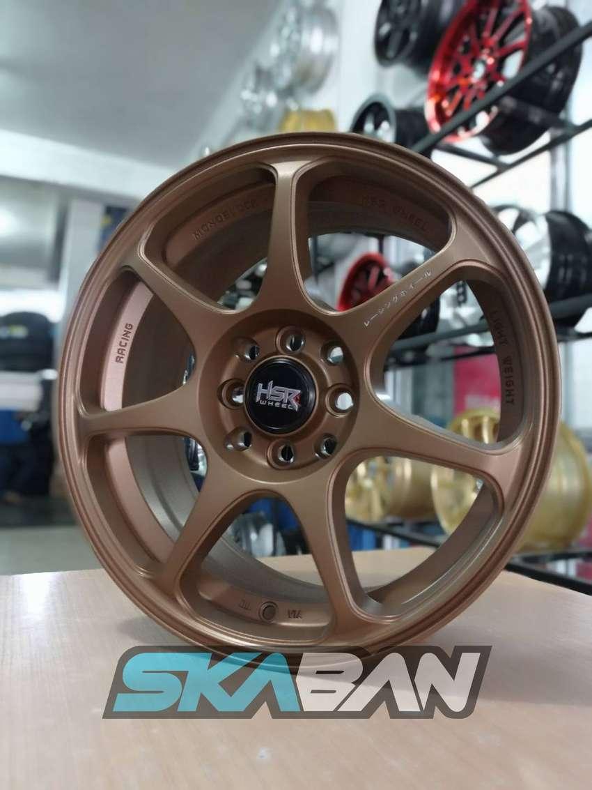 kredit velg hsr wheel ring 16x7 h8(114,3/100) utk sigra,mobilio,vios