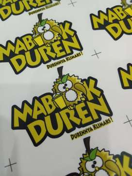 Stiker label produk murmer bunda