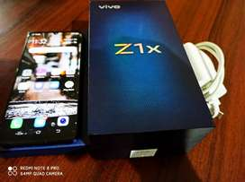 Vivo z1x Mobile under very Best condition one month used 6.64Gb