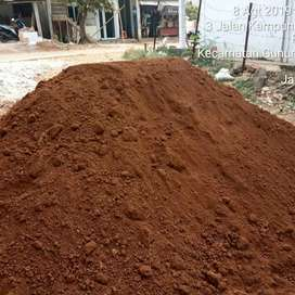 Jual tanah merah murni dan bagus untuk taman dan organ