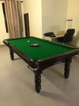 Standard size pool table 4 by 8 manufacturer
