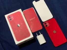 iphone 11 64gb red produk ibox indonesia