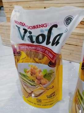 Minyak goreng Viola Refill 900ml dan 1800ml