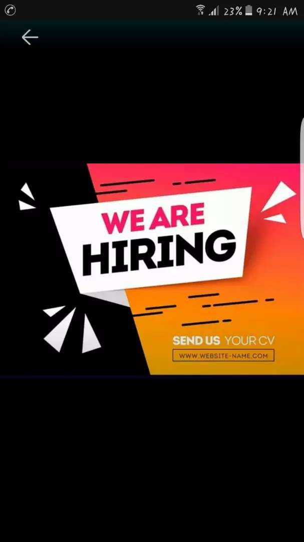 Job available for calls center 0
