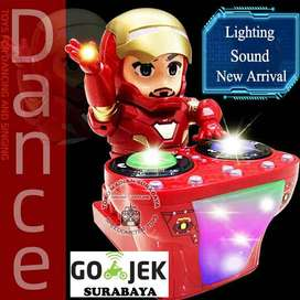 Ironman Dynamic DJ | Mainan Edukasi Anak Robot