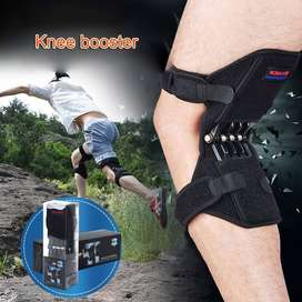 1 Pair Patella Booster Spring Knee Brace Support For Mountaineering