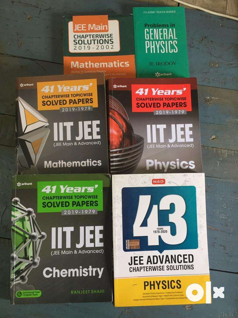 FIITJEE STUDY materials & some side books