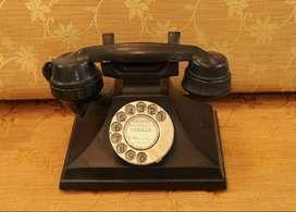 vintage antique seimens brothers neophone 1930s pyramid telephone rare