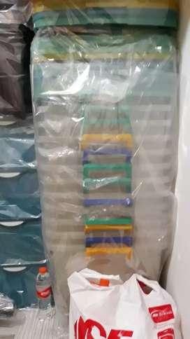 Box plastik tebal ukuran 60 x 40 cm x tinggi 50 cm