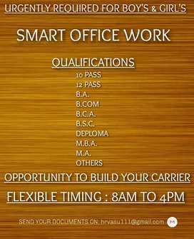 Online Office work