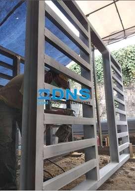 Produksi Hidrolik Cuci Mobil Model H di Bekasi