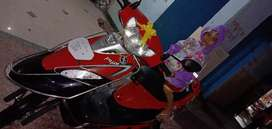 Brand new Scooty pept+ 2 month old .lone transfer facility 2 mnt old