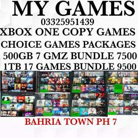 XBOX ONE COPY GMZ BUNDLES AT MY GAMES